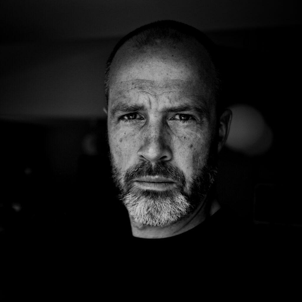 portrait of Johan mogren